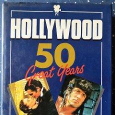 Libros de segunda mano: HOLLYWOOD 50 GREAT YEARS - JACK LODGE - JOHN RUSSELL - GALAHAD BOOCKS 1989 - VER FOTOS. Lote 43062935