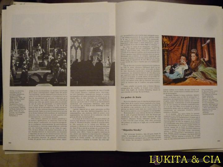 Libros de segunda mano: EL CINE. ENCICLOPEDIA SALVAT DEL 7º ARTE. VOLUMEN 4. - Foto 7 - 43565193