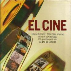 Libros de segunda mano: EL CINE. LAROUSSE. HISTORIA DEL CINE. TÉCNICAS Y PROCESOS. RM65635. . Lote 43628543