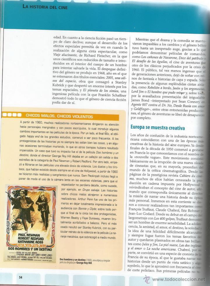 Libros de segunda mano: El Cine. Larousse. Historia del cine. Técnicas y procesos. RM65635. - Foto 3 - 43628543