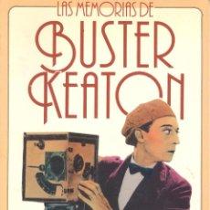 Libros de segunda mano: BUSTER KEATON. MEMORIAS. MADRID, 1988. CINE.. Lote 43660580