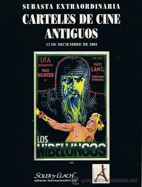 CARTELES DE CINE ANTIGUOS 13 DE DICIEMBRE 2001 (Libros de Segunda Mano - Bellas artes, ocio y coleccionismo - Cine)