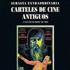Second hand books - CARTELES DE CINE ANTIGUOS 13 DE DICIEMBRE 2001 - 43867481