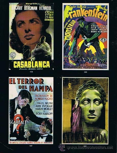Libros de segunda mano: CARTELES DE CINE ANTIGUOS 13 DE DICIEMBRE 2001 - Foto 2 - 43867481