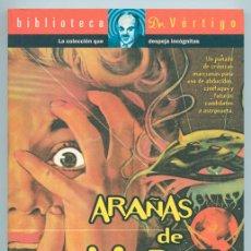 Libros de segunda mano: ARAÑAS DE MARTE, VIDEO-GUÍA DE INVASIONES ALIENÍGENAS - PEDRO DUQUE - BIBLIOTECA DR VÉRTIGO - GLÉNAT. Lote 44644799