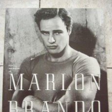 Libros de segunda mano: LAS PELICULAS DE MARLON BRANDO. TONY THOMAS. ODIN EDICIONES, 1995. 288 PP. ILUSTRADO.. Lote 44696655
