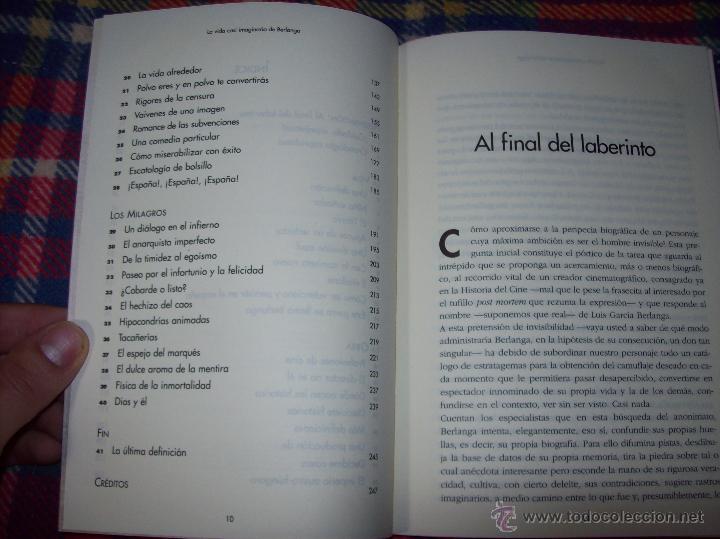 Libros de segunda mano: LA VIDA CASI IMAGINARIA DE BERLANGA.JOAN ÁLVAREZ.EDITORIAL PRENSA IBÉRICA.1ª EDICIÓN 1996.VER FOTOS. - Foto 6 - 44723954