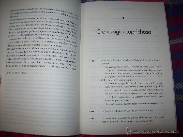 Libros de segunda mano: LA VIDA CASI IMAGINARIA DE BERLANGA.JOAN ÁLVAREZ.EDITORIAL PRENSA IBÉRICA.1ª EDICIÓN 1996.VER FOTOS. - Foto 9 - 44723954
