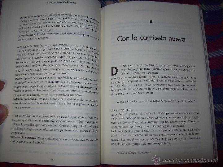 Libros de segunda mano: LA VIDA CASI IMAGINARIA DE BERLANGA.JOAN ÁLVAREZ.EDITORIAL PRENSA IBÉRICA.1ª EDICIÓN 1996.VER FOTOS. - Foto 13 - 44723954