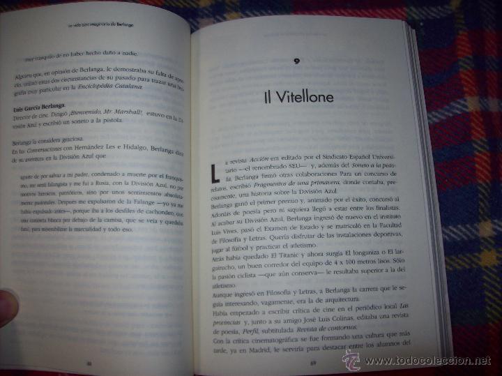 Libros de segunda mano: LA VIDA CASI IMAGINARIA DE BERLANGA.JOAN ÁLVAREZ.EDITORIAL PRENSA IBÉRICA.1ª EDICIÓN 1996.VER FOTOS. - Foto 14 - 44723954
