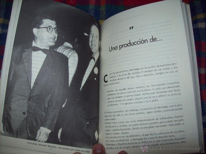 Libros de segunda mano: LA VIDA CASI IMAGINARIA DE BERLANGA.JOAN ÁLVAREZ.EDITORIAL PRENSA IBÉRICA.1ª EDICIÓN 1996.VER FOTOS. - Foto 21 - 44723954