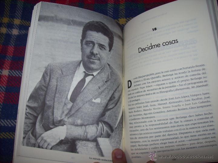Libros de segunda mano: LA VIDA CASI IMAGINARIA DE BERLANGA.JOAN ÁLVAREZ.EDITORIAL PRENSA IBÉRICA.1ª EDICIÓN 1996.VER FOTOS. - Foto 22 - 44723954
