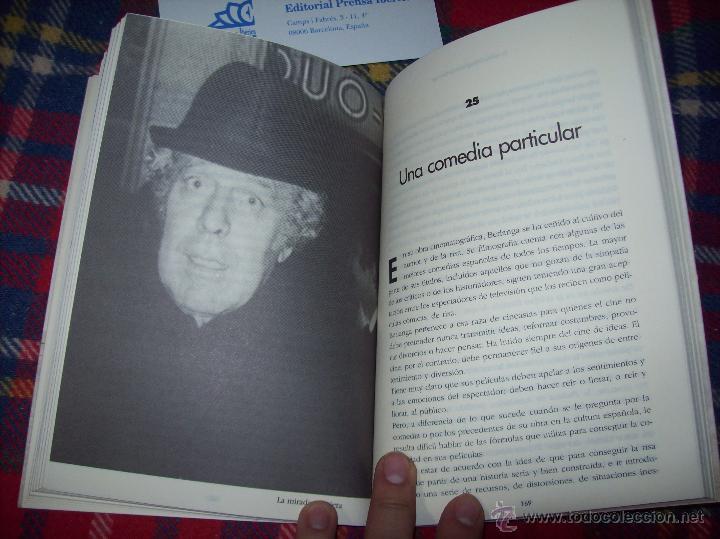 Libros de segunda mano: LA VIDA CASI IMAGINARIA DE BERLANGA.JOAN ÁLVAREZ.EDITORIAL PRENSA IBÉRICA.1ª EDICIÓN 1996.VER FOTOS. - Foto 24 - 44723954