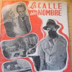 Libros de segunda mano: LA CALLE SIN NOMBRE - BISTAGNE. Lote 44833823