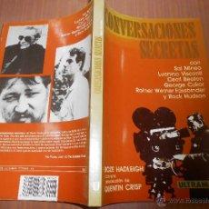 Libros de segunda mano: CONVERSACIONES SECRETAS CON SAL MINEO VISCONTI CECIL BEATON CUCKOR FASSBINDER ROCK HUDSON 1988. Lote 44964965