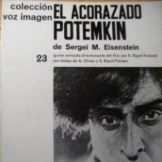 Libros de segunda mano: EL ACORAZADO POTEMKIN - SERGEI M. EISENSTEIN. Lote 45139844