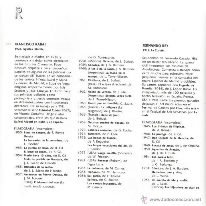 Libros de segunda mano: VV.AA. El cine español: 1896 - 1983. RM66369. - Foto 4 - 45153036