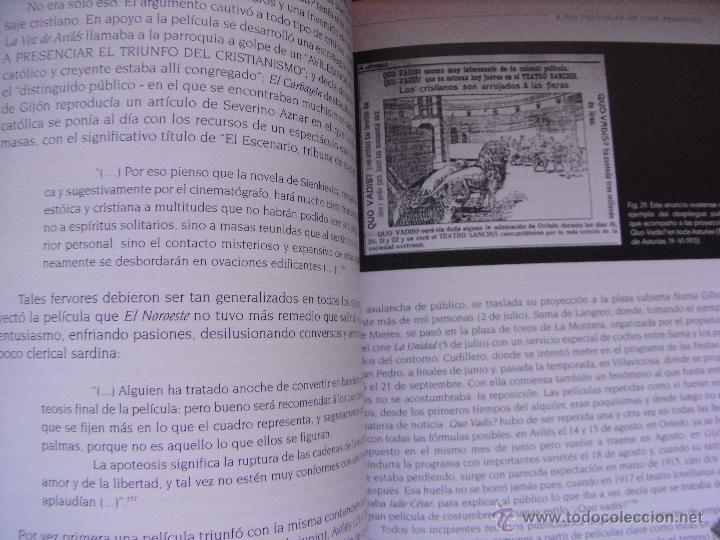 Libros de segunda mano: 8000 PELICULAS DE CINE PRIMITIVO - ASTURIAS 1896-1915 – DE LA MADRID - Foto 4 - 45249733