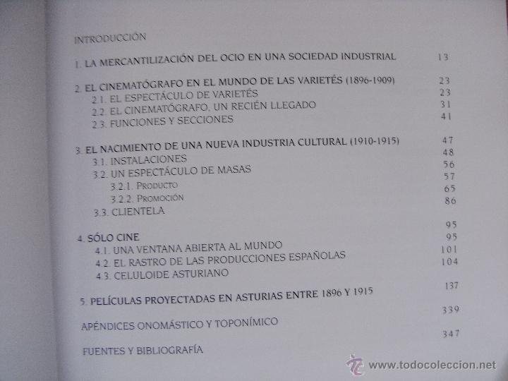Libros de segunda mano: 8000 PELICULAS DE CINE PRIMITIVO - ASTURIAS 1896-1915 – DE LA MADRID - Foto 5 - 45249733