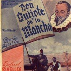 Libros de segunda mano: DON QUIJOTE DE LA MANCHA RAFAEL RIVELLES SARA MONTIEL NOVELA CON FOTOS EDITORIAL ALAS. Lote 45581582