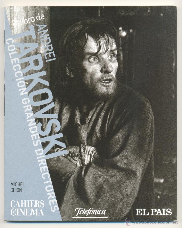ANDREI TARKOVSKI -MICHEL CHION- CAHIERS DE CINÉMA, Nº 13. ENVÍO: 2,50 € *. (Libros de Segunda Mano - Bellas artes, ocio y coleccionismo - Cine)
