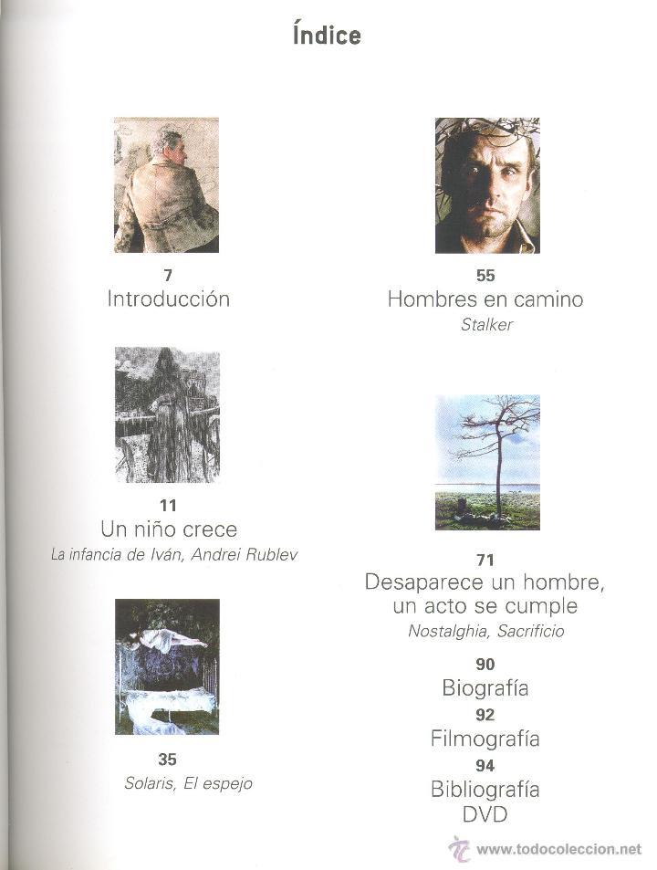 Libros de segunda mano: ANDREI TARKOVSKI -Michel Chion- Cahiers de Cinéma, nº 13. Envío: 2,50 € *. - Foto 2 - 45981361
