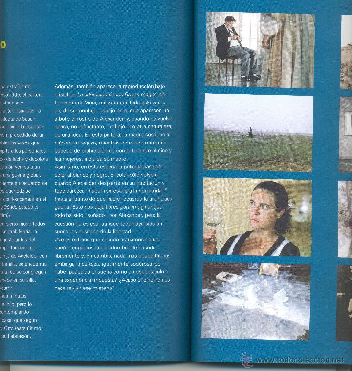 Libros de segunda mano: ANDREI TARKOVSKI -Michel Chion- Cahiers de Cinéma, nº 13. Envío: 2,50 € *. - Foto 3 - 45981361
