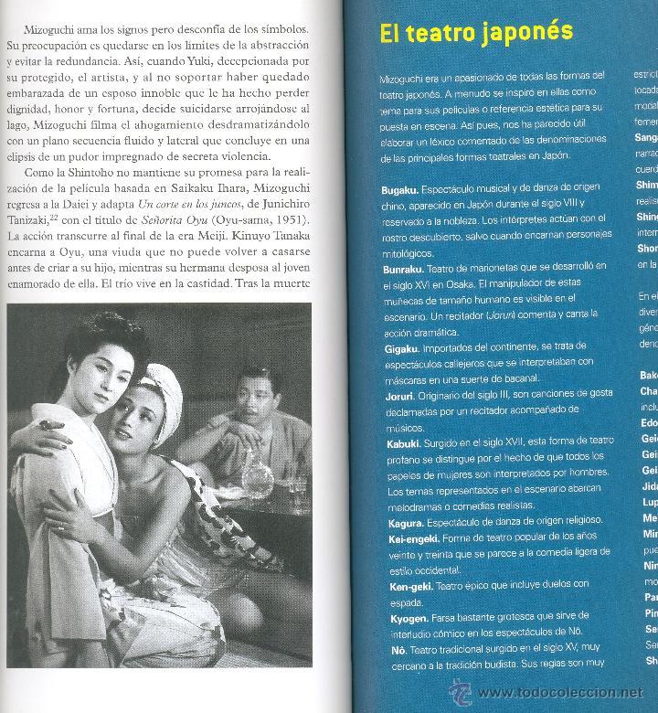 Libros de segunda mano: KENJI MIZOGUCHI -Noël Simsolo- Cahiers de Cinéma, nº 20. (Cine, Japón). Envío: 2,50 € *. - Foto 3 - 45981430