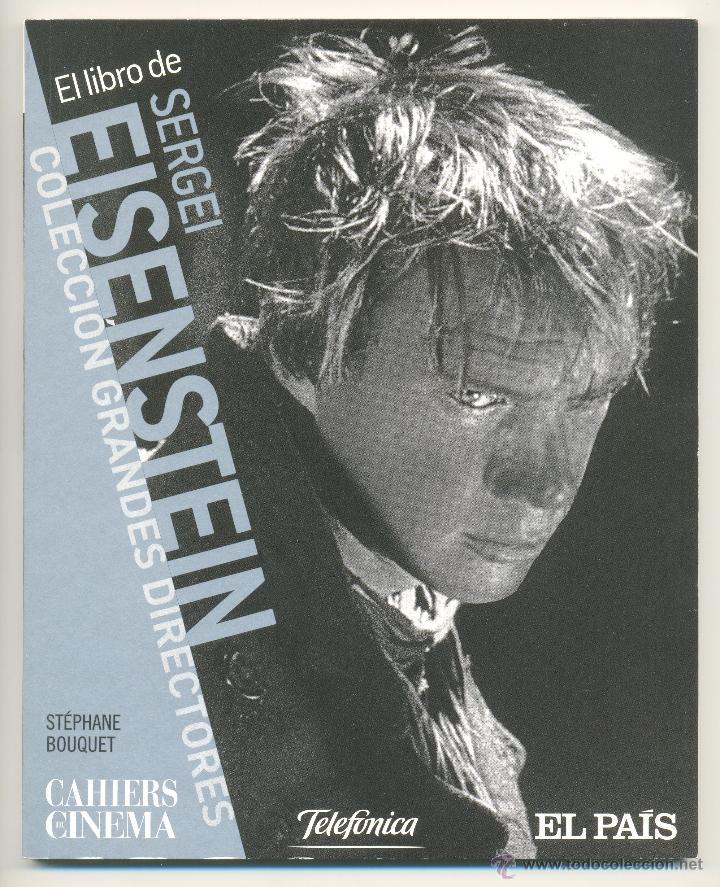 SERGEI EISENSTEIN -STÉPHANE BOUQUET- CAHIERS DE CINÉMA, Nº 23. (Libros de Segunda Mano - Bellas artes, ocio y coleccionismo - Cine)