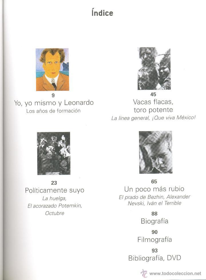 Libros de segunda mano: SERGEI EISENSTEIN -Stéphane Bouquet- Cahiers de Cinéma, nº 23. - Foto 2 - 45981556