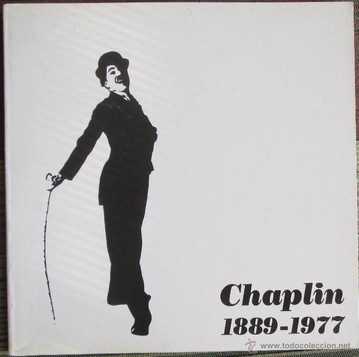 CHAPLIN 1889-1977. - ALBERTO SÁNCHEZ MILLÁN - IBERCAJA 1990 (Libros de Segunda Mano - Bellas artes, ocio y coleccionismo - Cine)