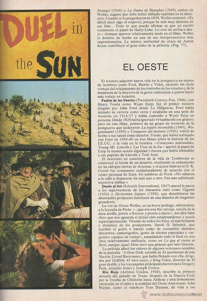 Libros de segunda mano: El gran libro del cine. Joel W Finler. HMB, 1ª edición, 1979 - Foto 4 - 46107703
