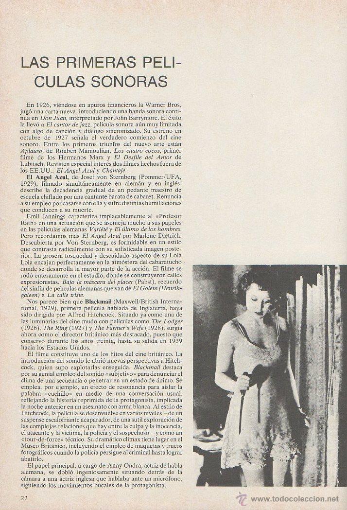 Libros de segunda mano: El gran libro del cine. Joel W Finler. HMB, 1ª edición, 1979 - Foto 5 - 46107703