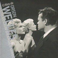 Libros de segunda mano: EL LIBRO DE ORSON WELLES. PAOLO MEREGUETTI. CAHIERS DU CINEMA, 1ª EDICIÓN, 2008.. Lote 46126784