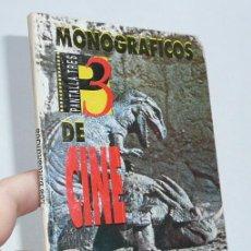 Libros de segunda mano: LOS DINOSAURIOS - MONOGRÁFICOS DE CINE PANTALLA 3 TRES - Nº 1. Lote 46317248