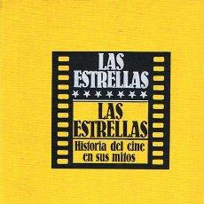 Libros de segunda mano: LAS ESTRELLAS HISTORIA DEL CINE EN SUS MITOS ( 8 TOMOS). Lote 46542079