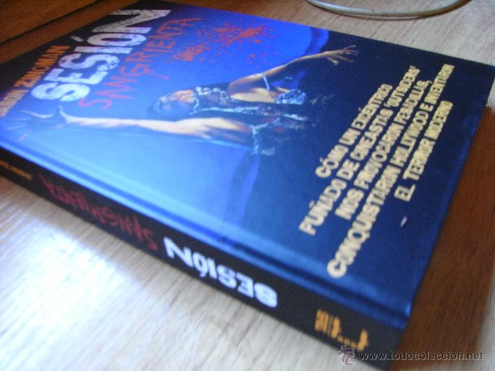 Libros de segunda mano: SESIÓN SANGRIENTA - JASON ZINOMAN - Foto 2 - 46680046