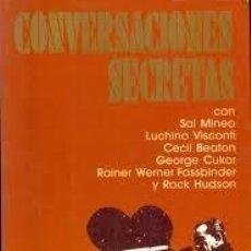 Libros de segunda mano: CONVERSACIONES SECRETAS, BOZE HADLEIGH, ULTRAMAR. Lote 46673862