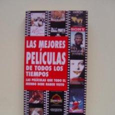 Libros de segunda mano: LAS MEJORES PELÍCULAS DE TODOS LOS TIEMPOS (SONY, 1995). DESCATALOGADO ¡ORIGINAL!. Lote 47036885