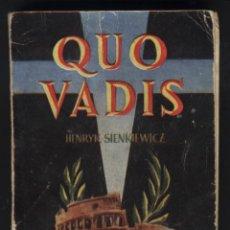 Libros de segunda mano: Z-104- QUO VADIS. ENCICLOPEDIA PULGA. Lote 47499639
