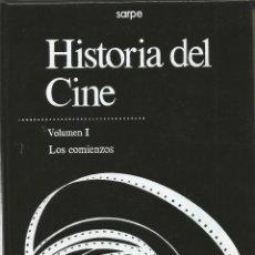 Libros de segunda mano: HISTORIA DEL CINE. VOLUMEN I. LOS COMIENZOS. SARPE. Lote 47580357
