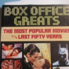 Libros de segunda mano: THE MOST POPULAR MOVIES OF THE LAST FIFTY YEARS BOX OFFICE GREATS AÑO 1990. Lote 47812042