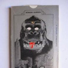 Libros de segunda mano: HOMENAJE A KING-KONG. ROMAN GUBERN. ED. TUSQUETS. 1974. C3. Lote 48160867