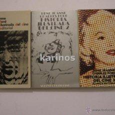 Libros de segunda mano: HISTORIA ILUSTRADA DEL CINE.- RENÉ JEANNE.- CHARLES FORD.- ED. ALIANZA EDITORIAL 1981 C1. Lote 48213709