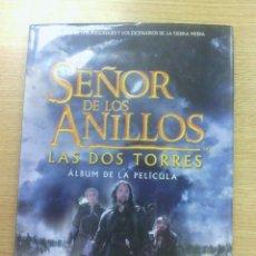 Libros de segunda mano: EL SEÑOR DE LOS ANILLOS LAS DOS TORRES - ALBUM DE LA PELICULA. Lote 48635683