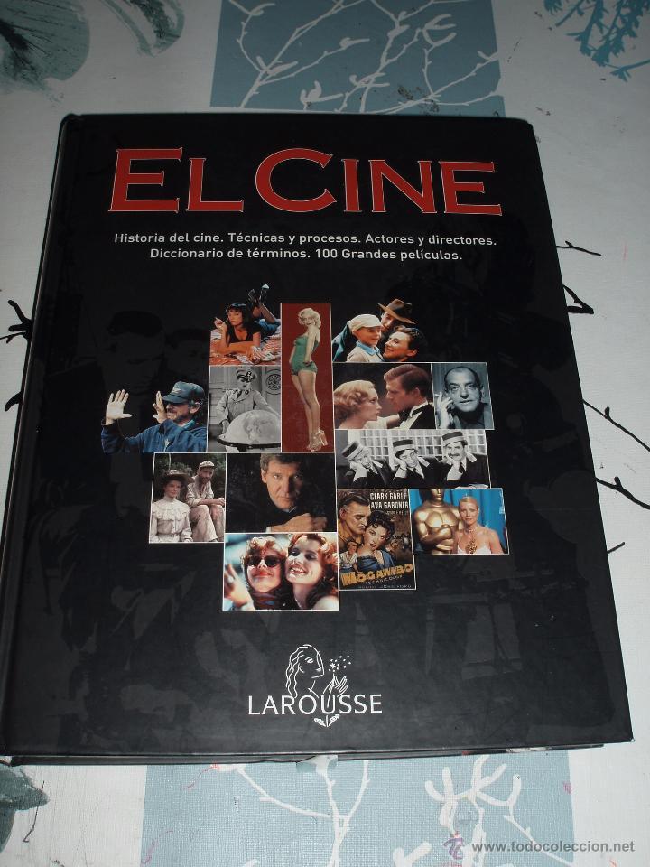 EL CINE,LAROUSSE,PELICULAS,ACTORES ,DIRECTORES,HISTORIA (Libros de Segunda Mano - Bellas artes, ocio y coleccionismo - Cine)