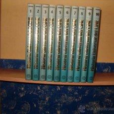 Libros de segunda mano: HISTORIA UNIVERSAL DEL CINE. DIEZ TOMOS. RM68910.. Lote 49050376