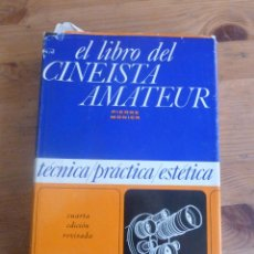 Libros de segunda mano: ELLIBRO DEL CINEASTA AMATEUR. PIERRE MONIER. ED. OMEGA. 1973 476 PAG. Lote 49584611