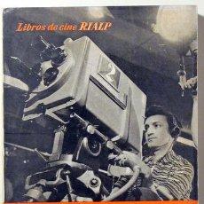 Libros de segunda mano: MAY, RENATO - CINE Y TELEVISION - RIALP 1959 - FOTOGRAFÍAS. Lote 29469121