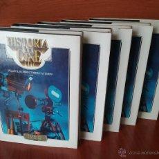 Libros de segunda mano: HISTORIA DEL CINE. PELICULAS, DIRECTORES Y ACTORES - OBRA COMPLETA EN 5 VOLUMENES. Lote 49843685